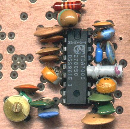 UKW-Radio mit dem TDA7000