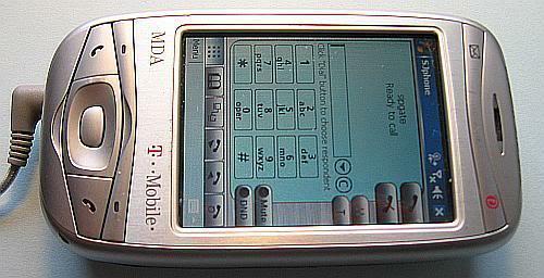 SJphone auf meinem alten MDA Vario