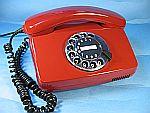Wählscheibentelefon Fe TAP 791-1 der Deutschen Bundespost aus dem Jahr 1985.